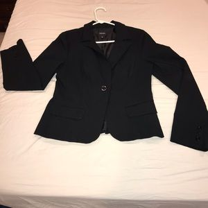 Woman's Black Blazer